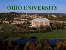 Ohio University, Athens OH